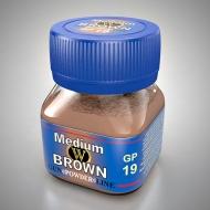 Умеренно-коричневый