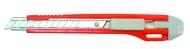 Нож с металлической ведомой, автофиксация 9 мм