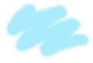 Краска акриловая светло-голубая