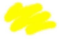 Краска акриловая желтая