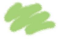 Краска акриловая светло-зеленая