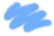 Краска акриловая голубая-авиа