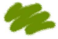 Краска акриловая оливковая