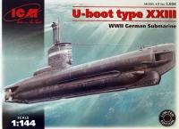Немецкая подводная лодка тип ХХІІІ WWII