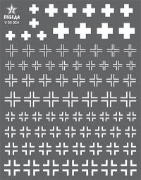 Кресты германской бронетехники. WWII. Набор 1