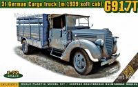 G917T 3t German Cargo Truck (soft cab)