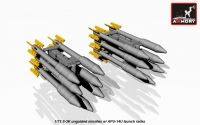 S-3K unguided missiles w/ APU-14U rack