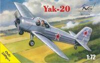 Тренировочный самолет Яковлева тип 20